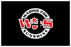 Logo for Wading For Sunshine - a fun rockin aco... Modern, Masculine Logo Design by Bluemedia