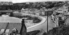 Tour Scotland Photographs: Old Photograph South Crescent, Portpatrick, Dumfries and Galloway, Scotland