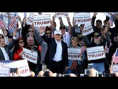 FULL EVENT: Donald Trump Holds HUGE Rally in Toledo, OH (7-27-16) My friend is the blonde in the sunglasses right behind Trump, she said the rally was ELECTRIC! **~Kathy~**