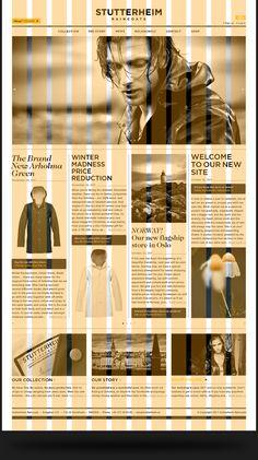 Stutterheim Raincoats - Branding, Art Direction, Photography & Web Design  Morris Pinewood