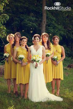 Bridal party, bridesmaids