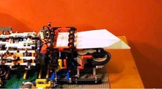 Lego machine makes, launches paper airplanes | Crave - CNET