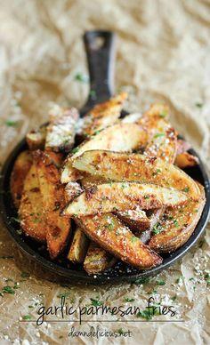 Garlic Parmesan Fries Recipe