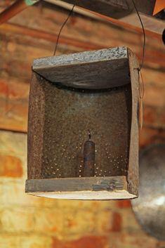 Tin lantern from Lindowen's American Country.