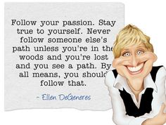 Ellen DeGeneres #quotes - Xlibris Writing Inspiration