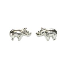 Sterling Silver    Baby Rhino - 6 x 10 x 4.5mm  Weight - 2.4 grams    10% of this sale is donated to The Black Mambas Anti-Poaching Unit