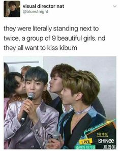 """I would debate the term """"beautiful"""" when those girls were next to Key. Duh they chose him!"""