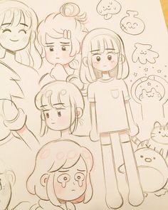 Parece eu ....nossa rsrsrs Aesthetic Drawing, Pretty Art, Cute Art, My Drawings, Amazing Drawings, Drawing Sketches, Pencil Drawings, Hair Styles Drawing, Drawing Practice