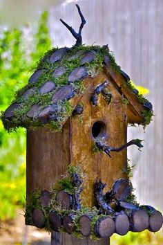 Beautiful Bird House Designs You Will Fall in Love with (6)