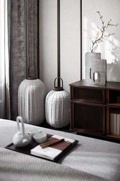 35 Luxury and Well-designed New Chinese Interior Decor Will Inspire You - Modern Chinese Interior, Asian Interior, Interior Styling, Interior Decorating, Interior Colors, New Chinese, Chinese Style, Chinese Furniture, Chinese Design