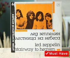 1989  Led Zeppelin  Stairway To Heaven LP от CollectInspiration
