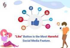 "A study commissioned by the Royal Society for Public Health (RSHP) finds that ""like"" button is considered more harmful than push notifications. Instagram has removed the like button from its platform, and Facebook might also remove the like counts.  #socialmedia #socialmediamarketing #sourcesoft #Facebook #Instagram Social Media Services, Social Media Marketing, Royal Society, Facebook Instagram, Public Health, How To Remove, Platform, Study, Button"
