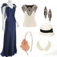 1920s Accessories || Art Deco Weddings
