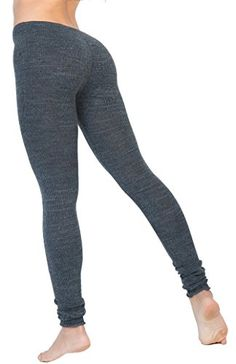 Charcoal Medium Sexy Chic & Warm Stretch Knit Gym Tights KD dance NYC Made In USA. Stretch Knit Ribbed Low Rise Tights by KD dance New York, Makers of the Finest Knit Dancewear In The World. Sexy, Unique & Fashionable, So Comfortable You Will Wear Them Every Where - Made In New York - Ships Worldwide. Durable Long Lasting Quality Retains Fit Wash After Wash. Knits Bread From The Dance Floor - Form Fitting, Soft & Comfortable. Freedom of Expression, Designed to Flow to Your Every Movement.
