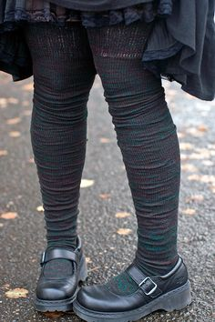 """See just right for old lady legs.....the style can be found on the old BBC show """"Last of the Summer Wine""""!  : )"""
