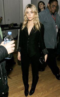 Ashley, all black
