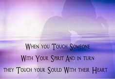 Strong Relationship, Touching You, Spirit, Heart, Hearts