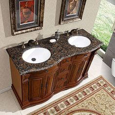 traditional double sink bathroom vanities cherry silk road exclusive traditional double sink bathroom vanity hyp022355 by silkroad 167 best vanities images on pinterest