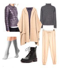 """#МКМодныйобраз от @ekaterina.marengo  Комплект для молодых мам👸🏼👼🏼 В прошлый раз многие просили комплект из вещей """"попроще"""" и потеплее😄  Многослойность взята за основу, ну и мега комфорт и удобство гарантировано👌🏻 Одеваем куртку на водолазку, пальто на куртку ну и так далее вперёд на прогулку🏃😄 Пальто @zara 5599₽ Куртка @reserved 2999₽ Брюки @bershka 1499₽ Джемпер @mango 2499₽ Носки @calzedonia 599₽ Ботинки @stradivarius 4999₽"""