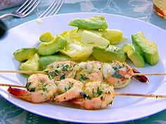 Grilled Herb Shrimp from Ina Garten.  One of my family's favorite recipes. Rather than skewer, I just sautee with a little olive oil and its delish!