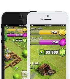 Clash of clans pour iPhone : comment obtenir gratuitement Gemmes Clash of clans… Clash Of Clans Hack, Clash Of Clans Free, Clash Of Clans Gems, Coc Update, Clash Games, Clash Royale, Iphone, Hack Tool, Android