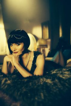 """Sassy """"Phyrne Fisher"""" ~ Miss Fisher's Murder Mysteries"""