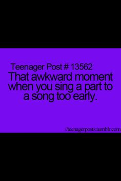 Ha!! Happens to me all the time!