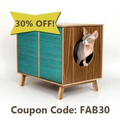 Mid Century MODERN DOG Furniture  Medium by modernistcat on Etsy,