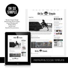 minimal blogger template modern blogger design scandinavian