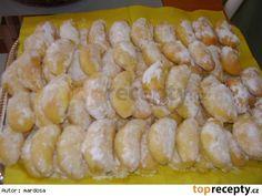 Rohlíčky máčené v másle Czech Recipes, Ethnic Recipes, Fruit Roll Ups, Pretzel Bites, Sushi, Shrimp, Sausage, Goodies, Food And Drink