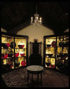 Ancient brandy aging at Château de Laubade. Armagnac, France ...ok, it's not wine, but close enough.