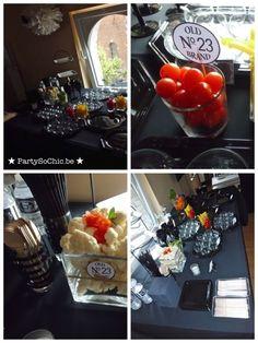 Party so ChicConcept moustaches & Jack Daniels par Party So Chic : Buffet