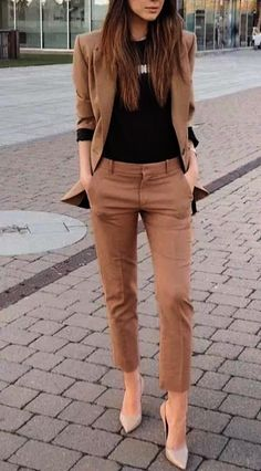 25 Best Casual Office Outfits - Business Outfits for Work Stylish Work Outfits, Winter Outfits For Work, Business Casual Outfits, Professional Outfits, Work Casual, Classy Outfits, Chic Outfits, Young Professional, Business Professional