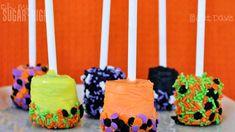 Halloween Dipped Marshmellows