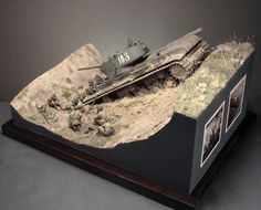 Dioramas and Vignettes: Gully in Don Steppe, photo Train Miniature, Tank Armor, Sci Fi Models, Model Tanks, Model Hobbies, Armored Fighting Vehicle, Military Modelling, Aircraft Pictures, Ancient Aliens