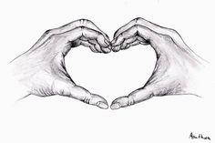 My drawing - kresba tužkou - Arathorn´s web Holding Hands Drawing, Heart Hands Drawing, Ripped Skin Tattoo, Petite Body Types, Heart Shaped Hands, Art Is Dead, Pregnancy Art, Fashion For Petite Women, Hand Sketch