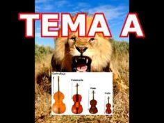 """MUSICOGRAMA """"El Carnaval de los Animales"""" El León"""