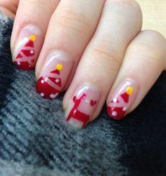 Christmas nails♡