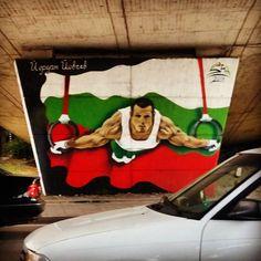#Mural in #Sophia #Bulgaria