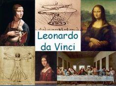 Leuke en informatieve powerpoint over Leonardo da Vinci voor 5, deze en nog vele andere kun je downloaden op de website van Juf Milou.