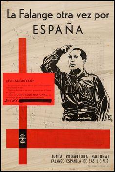 Cartel de la Falange española