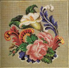 Berlin WoolWork Pattern Produced By Seiffert & Co Berlin