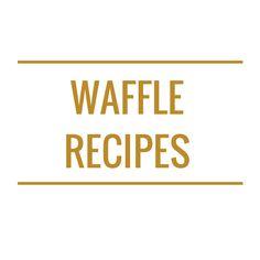 Healthy Waffles, Waffle Recipes, Cookie Recipes