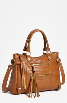 <3  the perfect fall satchel #stevemadden