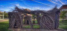 Ruth Caplin Theatre – Stickwork Pano 3 – Martin Phillips Photography
