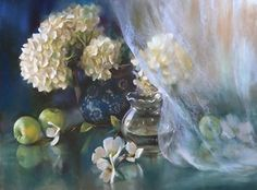 Revealing Grace by Mary Aslin Pastel ~ 18 x 24