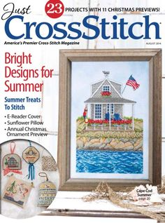 Just Cross Stitch Magazine Cross Stitch Magazines, Cross Stitch Books, Just Cross Stitch, Crochet Edging Patterns, Cross Stitch Patterns, Cross Stitching, Cross Stitch Embroidery, Magazine Cross, Altar Cloth