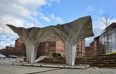 Tal Friedman Origami pavilion 05