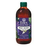 Eden Foods Red Wine Vinegar Raw 3x16 OZ * More infor at the link of image : at Cooking Ingredients.