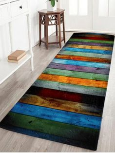 GET $50 NOW | Join RoseGal: Get YOUR $50 NOW!http://www.rosegal.com/carpets-rugs/color-stripe-coral-velvet-large-1167851.html?seid=5138397rg1167851